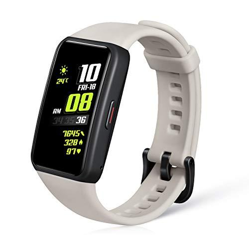 """HONOR Band 6 Reloj-Pulsera Actividad Inteligente con Podómetro, 1.47"""" Pantalla AMOLED, 14 Días Duración de la Batería, Monitor de Sueño, SpO2 Monitor,10 Modos de Entrenamiento, Mujer Salud, Gris"""
