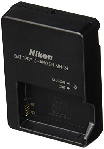 Nikon MH-24 - Cargador (Ión de Litio, EN-EL 14, 1030 mAh, 7,4 V, Negro, Cargador de baterías para Interior)