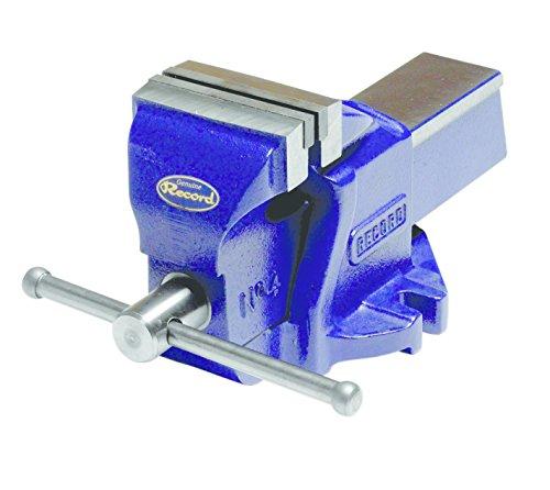 Irwin 7210051 IW8ZR Etau record mecanicien 205 mm, Bleu