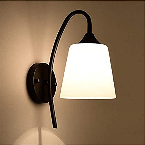 Illuminazione a parete camera da letto semplice comodino balcone lampada da parete corridoio lampada da parete in ferro luce a soppalco