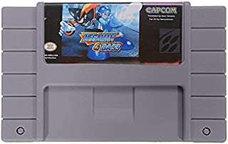 Megaman & Bass 16 Bit Game Cartridge Card for SFC SNES Battery Save File