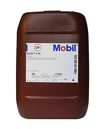 Aceite hidráulico MOBIL NUTO H 46 envase de 20 LITROS