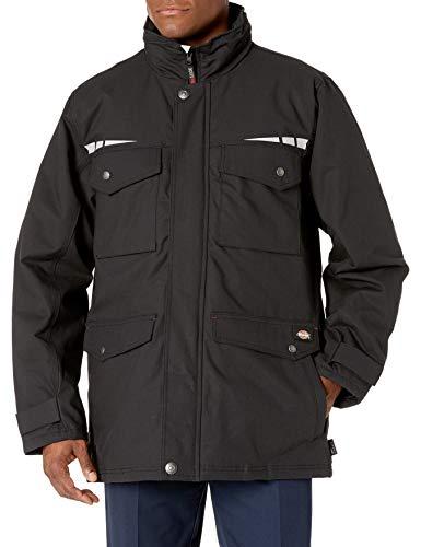 Dickies Men's Pro Cordura Field Coat, Black, M