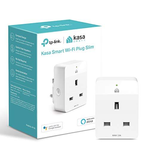 Kasa Mini Smart Plug von TP-Link, WiFi Outlet, funktioniert mit Amazon Alexa (Echo und Echo Dot), Google Home und Samsung SmartThings, Wireless Smart Steckdose (KP105)