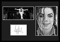 10種類!Michael Jackson/マイケル・ジャクソン/サインプリント&証明書付きフレーム/BW/モノクロ/ディスプレイ (2-3W) [並行輸入品]