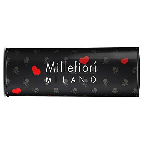 Millefiori Milano - Ambientador para Coche, Icon, Aroma Cold Water, Modelo 16CAR03, línea de Corazones y Flores