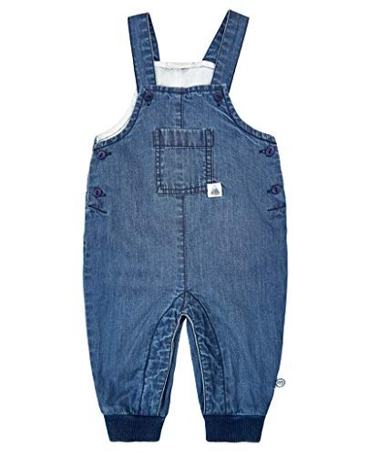 MINYMO Baby Boy Overall Chambray Blue 56