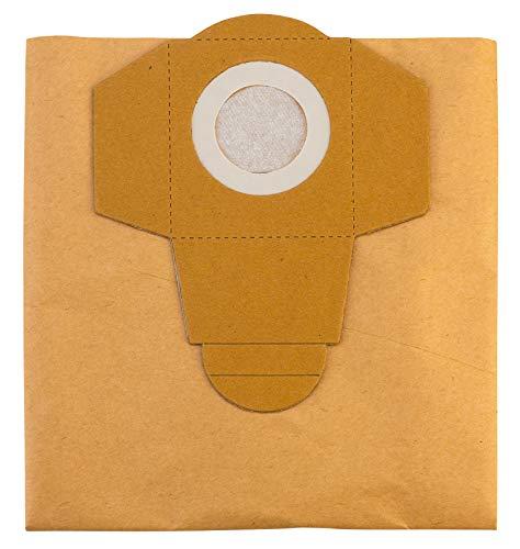 Original Einhell Schmutzfangsack 20 L (passend für Einhell Nass-Trockensauger, 5 Stück enthalten)