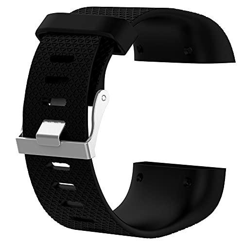 Cinturino di ricambio in silicone leggero per orologio Fitbit Surge Watch