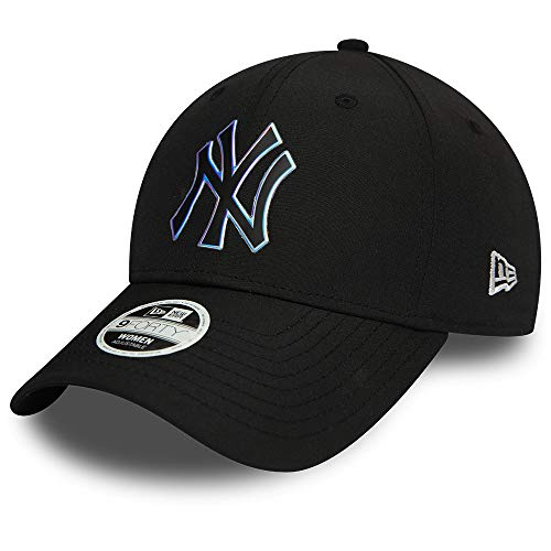 New Era New York Yankees MLB Cap New Era Verstellbar 9forty Basecap Kappe Holo Schwarz - One-Size