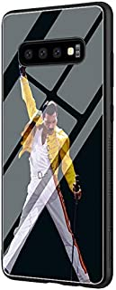 YaoYang LY-30 Freddie Mercury Queen Band Designed for Samsung S9 Tempered Glass TPU Dust-Proof Abrasion Resistance Impact Resistance Protective Case