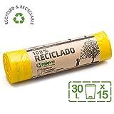 Relevo Sacchi Spazzatura 100% riciclati, 30 litri, 15 unità...