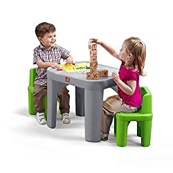 Best Toddler (3-5) Years Table and Chairs set under $50|Plastic