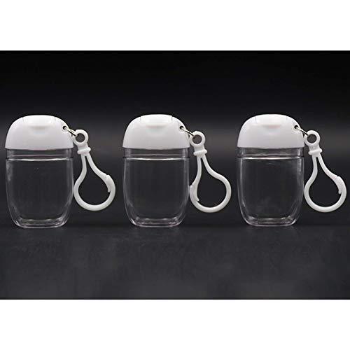30ml Disposable Hand Sanitizer Plastic Bottle, Fliptop Bottle, Small Sample Bottle, Portable Hook Bottle