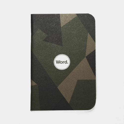 Word. Notebooks Swedish Camo (3-pack) Photo #4