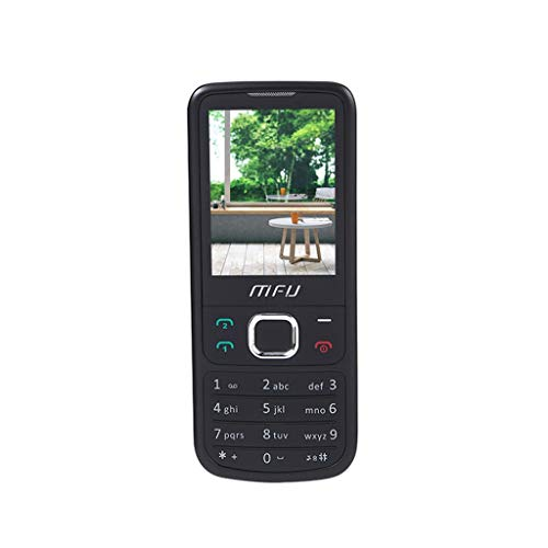 Senior Phone MFU M670 Classic GSM 2G GPS Mobile Phones Unlocked Cell Phone for Elder Wireless FM Big Volume Black