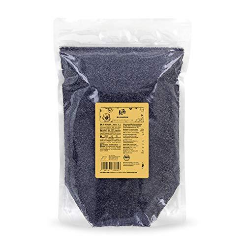 KoRo | Bio Blaumohn | 1 kg | Frei von Konservierungsstoffen | Aus kontrolliert biologischem Anbau