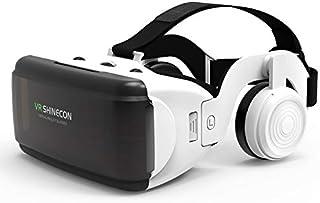 Original VR Realidad Virtual 3D caja de gafas estéreo VR Google cartón Casco para iOS Android Smartphone, Bluetooth Rocker...