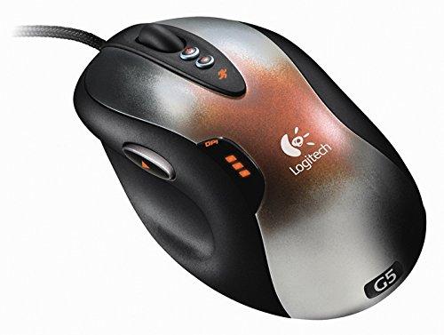 Logitech G5 Laser Mouse - Ratón (Laser, USB, 2000 dpi)