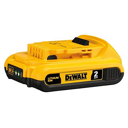 DEWALT 20V MAX Battery, Compact 2.0Ah (DCB203) , Yellow , 7.00 Inch x 7.00 Inch x 3.00 Inch