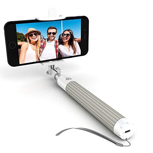 Tchin Bastone Selfie Bluetooth avanzato 5 in 1 per ruotare Le Foto HD perfette riprese Integrate