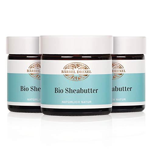 BÄRBEL DREXEL® Sheabutter Bio Kaltgepresst (150ml) Bio-Sheabutter Rein & Natürlich 100{18e35fe14d9fc1007265016ba550958009889322570329db9a280bbb19733996} Vegane Bio Herstellung Deutschland Vegan Premium Shea Butter Parfümfrei Ohne Zusätze