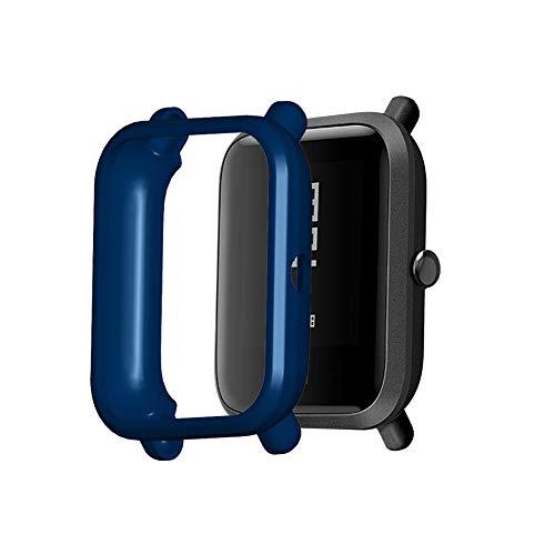 Sklepee TUP Case - Funda protectora para reloj inteligente compatible con Amazfit Bip/Amazfit Bip S/Bip 1S/Amazfit Bip Lite/bip Lite 1s/Amazfit A1608 Protector de pantalla