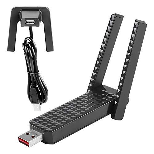 Tangxi EDUP EP-AC1631 USB WLAN-adapter 600 M draadloze 20 MHz / 40 MHz dual-antenne netwerkkaart voor Windows XP, Vista, Win 7, Win8, Win10, Mac10.11