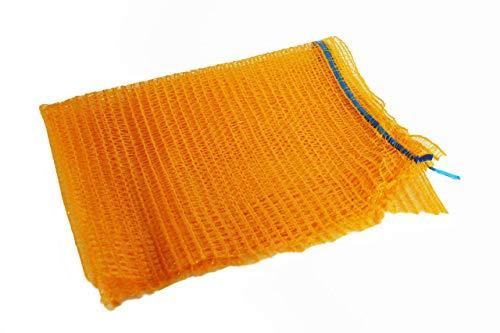 Predominio Kartoffelsack- 20er Set 50cm x 80cm Vielseitige Kartoffelsäcke für die Aufbewahrung von Obst & Gemüse - Netzsack für die Verpackung von Kaminholz -Säcke für Äpfel bis 25kg