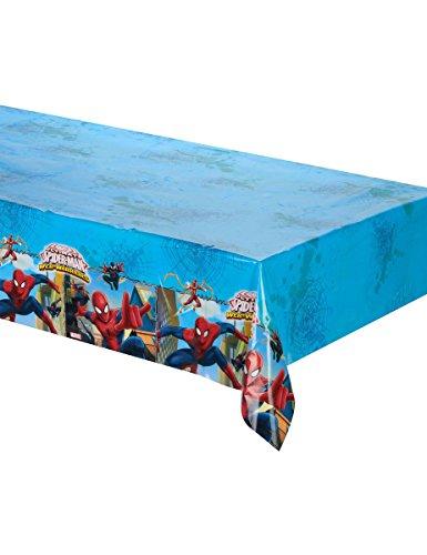 Nappe en plastique Spiderman 120 x 180 cm