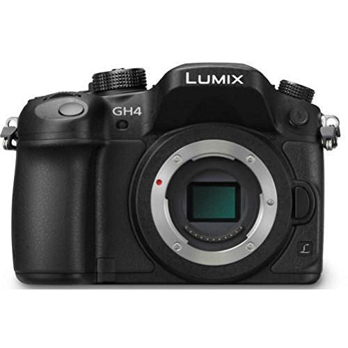 PANASONIC LUMIX GH4 Body 4K Mirrorless Camera, 16...