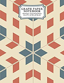 Graph Paper Notebook: Pop Art Retro | Squared Graphing Paper (Student Life Notebooks)