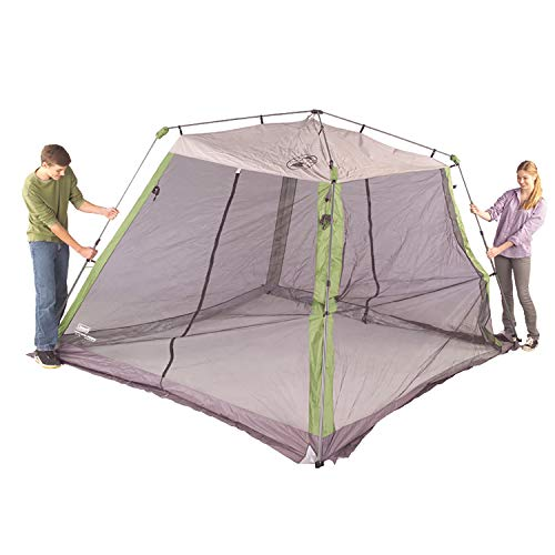 41X7ZPglPRL - Coleman Screened Canopy Tent | 15 x 13 Screened Sun Shelter with Instant Setup
