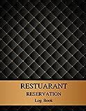 Restaurant Reservation Log Book: 120 Pages Restaurant Reservations Book - Undated Log Book for Restaurant