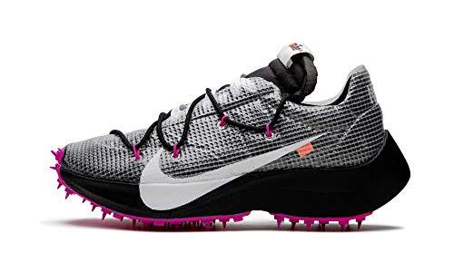 Nike Mujeres Vapor Street/Off White Running Trainers CD8178 Sneakers Zapatos (UK 2.5 US 5 EU 35.5, Black White 001)