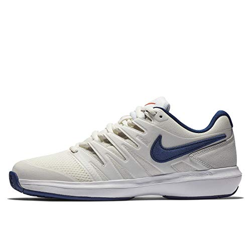 Nike Air Zoom Prestige HC, Scarpe da Tennis Uomo, Multicolore (Phantom/Blue Void/Sail/Orange Blaze 044), 44.5 EU