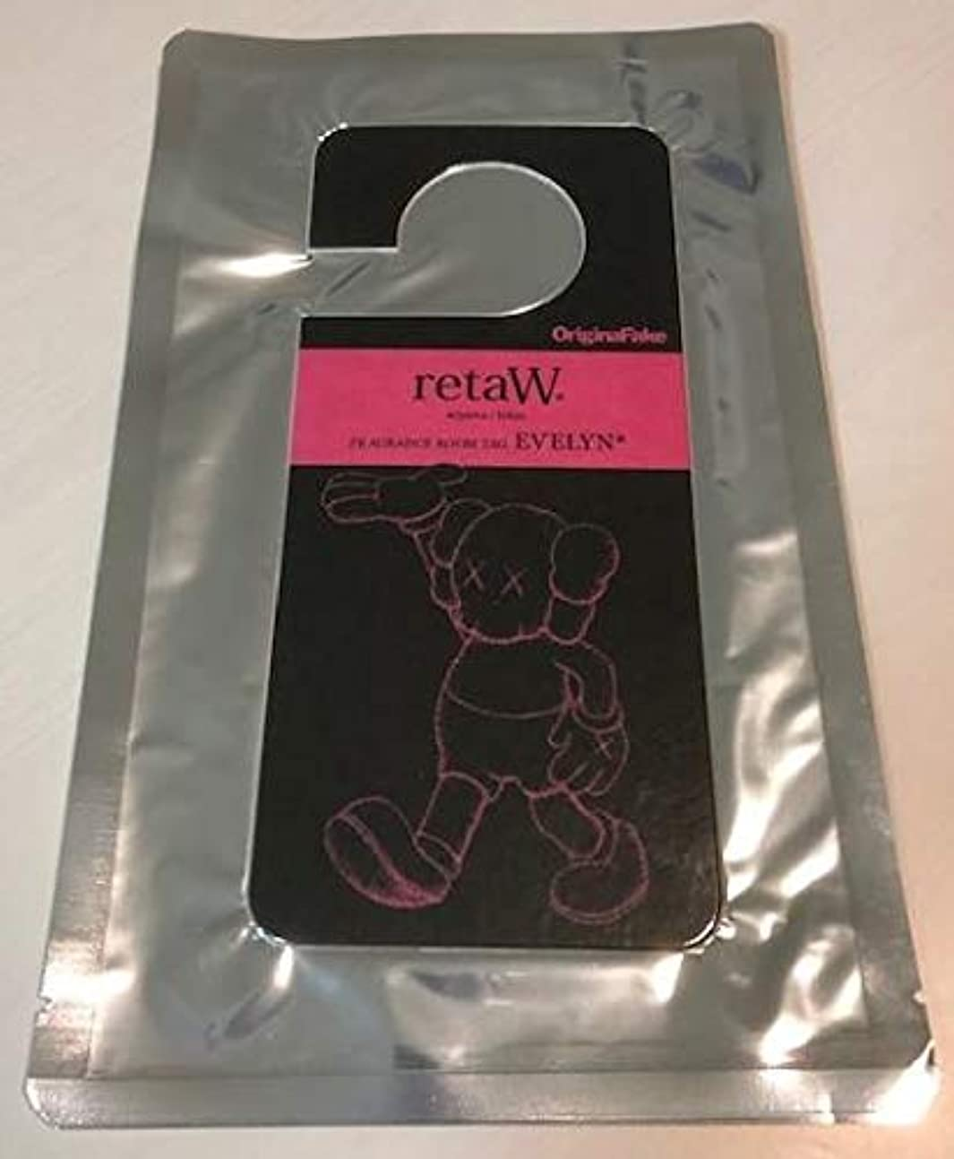 KAWS OriginalFake Fragrance room tag ルームフレグランス 非売品 ノベルティ