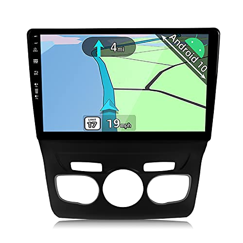 YUNTX Android 10 Autoradio adatto per Citroen Citroen C4 C4L DS4 (2013-2017)- GPS 2 Din - 2G+32G - 10.1 pollice TouchScreen- Supporta DAB / Controllo del Volante/BT 5.0/WiFi/4G/CarPlay/USB/Mirrorlink