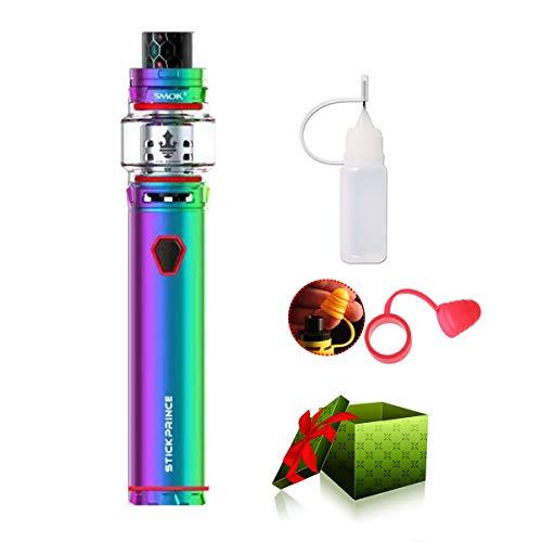E Zigarette Starter Set,Original Smok Stick Prince Kit, Kombination aus 3000mAh Akku, TFV12 Prince Tank Vape Kit, Ohne E-Liquid, Ohne Nikotin (7-farbig)