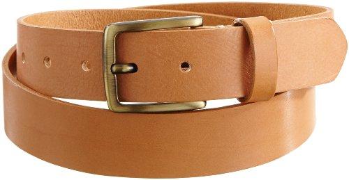 Jack & Jones Jones Cinturón, Leather Cognac, 85 cm para Hombre