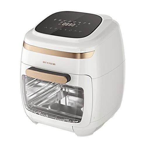 HARTI Freidora de aire de 110 V, doméstica, 11 L, gran capacidad, automática, inteligente, sin aceite, lámpara de pared integrada, sin aceite, horno de aire, secador profesional de frutas para cocina