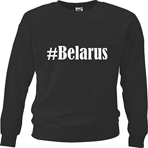 Reifen-Markt Sweatshirt Damen #Belarus Größe M Farbe Schwarz Druck Weiss
