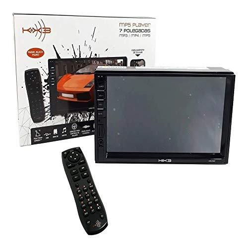DVD Central Multimídia Mp5 7' P Blue/controle Kx3 Krc2000