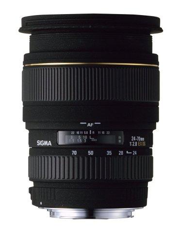 Sigma 24-70 mm/F 2,8 EX/DG/ASP./Macro - 24-70 f/2,8 EX DG Objetivo para Nikon