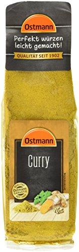 Ostmann Curry 3 x 40 g Currypulver indische Gewürz-Mischung, Curry-Gewürz, für leckeres indisches oder asiatisches Curry, Nudeln, Reis & Wok-Gemüse, Menge: 3 Stück