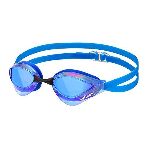 ビュー(VIEW) スイミング 競泳用 ゴーグル ミラータイプ ブレードオルカ Fina承認 V230MRC BLBLB