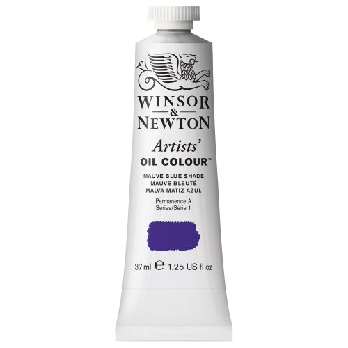 Winsor & Newton 1214400 Artists' Oil Color Paint, 37-ml Tube, Mauve Blue Shade