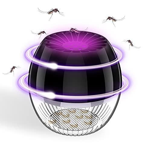Mosquito Killer Light,Lámpara Antimosquitos Eléctrico,Pequeña Lámpara Antimosquitos,SilencioMata Mosquitos Electrico USB,Utilizado para la...