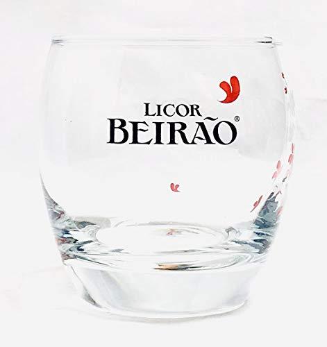 Licor Beirão 32 cl Glas/Licor de Portugal/Likör/Likörglas/Gläser/Bar/Gastro/Sammler/Neu