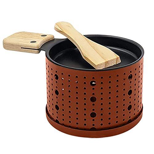 Xmiral Griglia Pane Formaggio Picnic Cucina Forniture Candela Forno Lento Formaggio (1pezzo,Arancia#14.5cmX6.5cm)